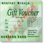 9913 - Gift : Cadeaubon 100 Euro