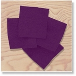 380104 - Accessories : Donker paars vilt