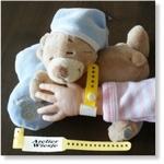 7744 - Accessories : Ziekenhuis naambandje - Geel