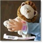 7740 - Accessories : Ziekenhuis naambandje - Rose