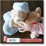 7745 - Accessories : Ziekenhuis naambandje - Rood