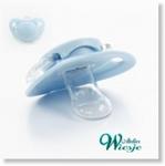 792022 - Accessories : Luxe baby speen Zacht Blauw