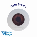 630100 - Eyes : Polyglass ogen Cafe Brown