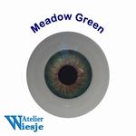 630700 - Eyes : Polyglass ogen  Meadow Green
